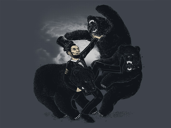 lincoln bear shirt