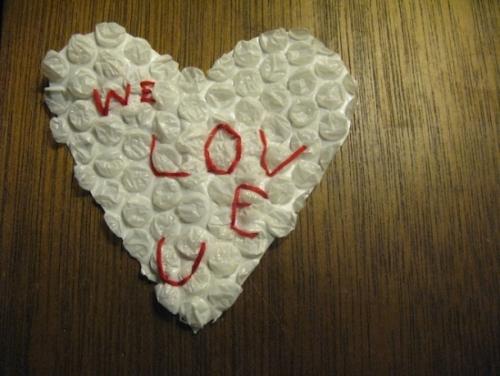 we love u