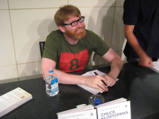 klosterman signing small