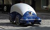 italian street-cleaning robots
