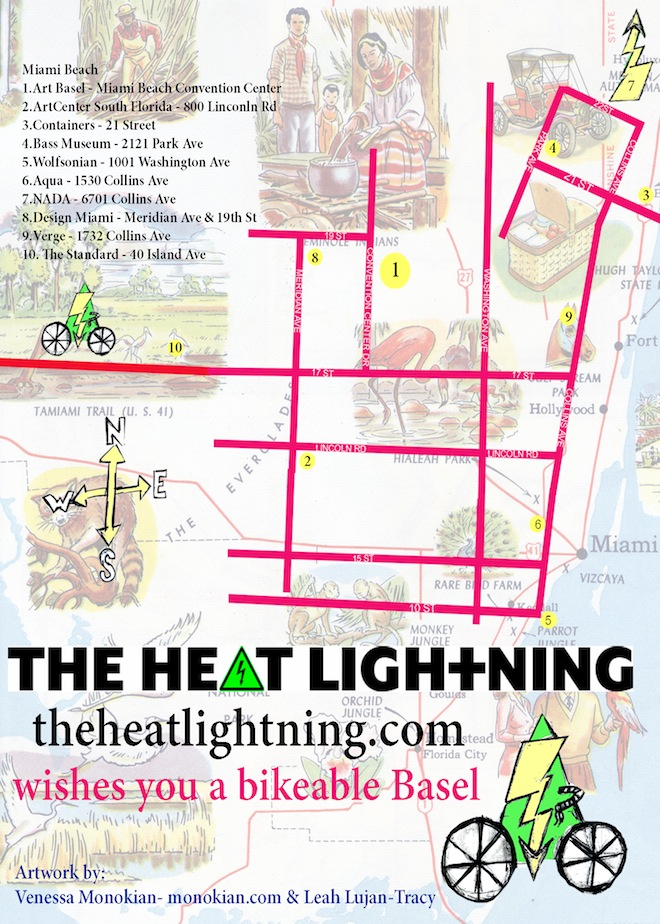 the heat lightning art basel miami beach