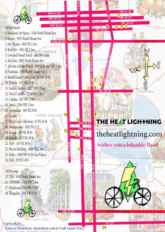 the heat lightning art basel wynwood design district