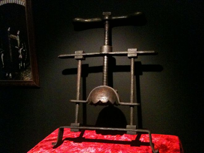 instruments or torture
